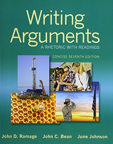 Writing Arguments: A Rhetoric with Readings, Concise Edition Plus MyWritingLab without eText -- Access Card Package (7th