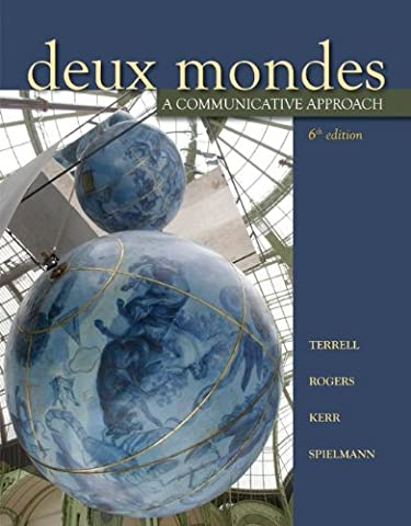 Deux mondes: A communicative approach, Sixth Student Edition (Quick Study Academics French)