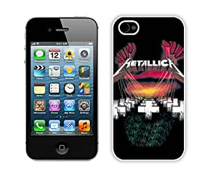 Metallica Master Of Puppets (2) Individual Popular Design Customized iPhone 4S Phone Case