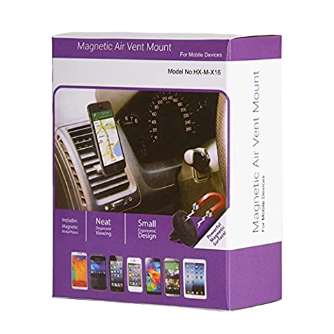 Universal Air Vent Magnetic Car Mount Holder - Keep you Drive Safety and Comfort to use your Nokia smart phone ( 1 pack (Nokia Lumia 650 Phone)