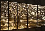 ASH CARL Contemporary Metal Wall Art. Wall Sculptures