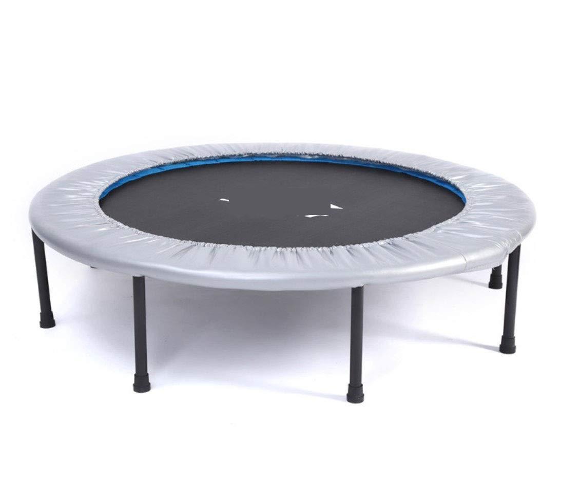 Amio Sport Trampolino Pieghevole Trampolino Fitness Trampolino Attrezzature per Il Fitness per Adulti Indoor Trampolino Sport Bounce Bed (Grigio)