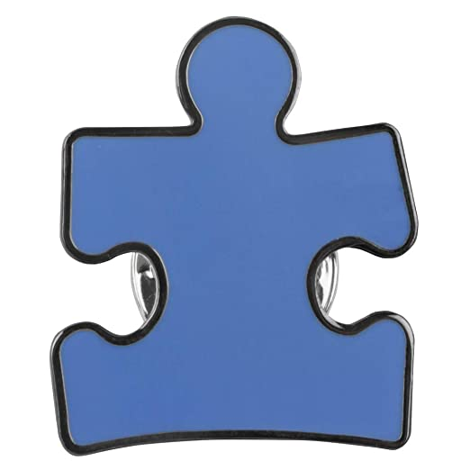 Amazon Official Autism Speaks Puzzle Piece Awareness Pin Clothing