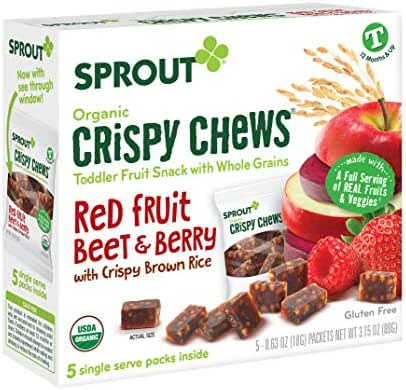 Baby & Toddler Snacks: Sprout Crispy Chews