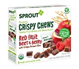 Sprout Organic Crispy Chews Toddler Snacks, Red
