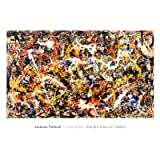 Convergence Poster Print by Jackson Pollock (40 x 28)