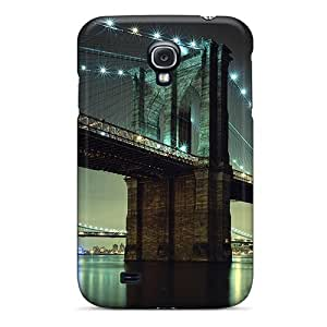Special Mialisabblake Skin Case Cover For Galaxy S4, Popular Brooklyn Bridge Nyc Phone Case