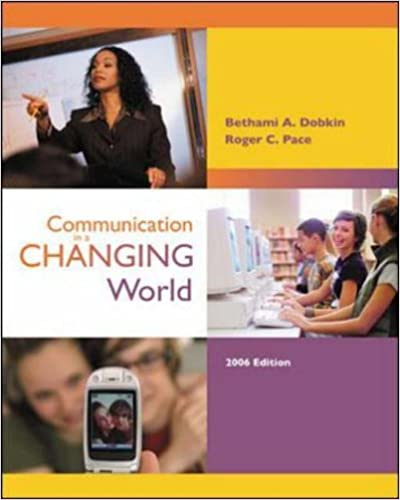 Communication in a Changing World with Student CD-ROM 2.0 and PowerWeb