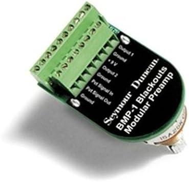 Seymour Duncan Blackouts Modular Preamp standard shaft on