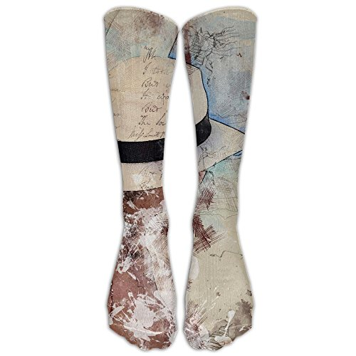 Words Hat Men Hip-hop 3D Print Sport BascketBall Socks -