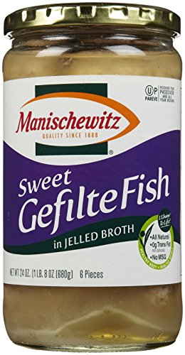 Manischewitz Gefilte Fish (Manischewitz Sweet Gefilte Fish, 24 oz)