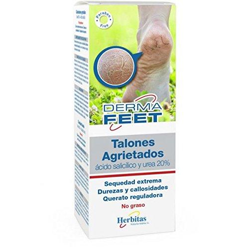 Crema Talones Agrietados 60 ml (UREA 20%, ROSA MOSQUETA) incluye guia para el cuidado del pie GRATIS. dvita