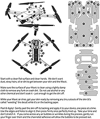 235d8c5381f Coyote Camo Decal for Drone DJI Mavic Pro Kit - Includes Drone Skin,  Controller Skin