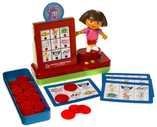 Dora the Explorer Electronic Talking Bingo Game