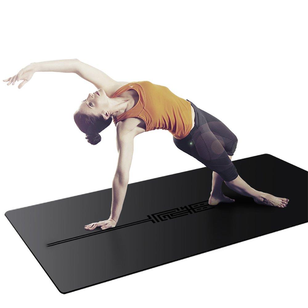LJJ Cojín de Yoga 5MM Multiusos Goma Natural Antideslizante ...