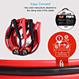 TOPDC Battery Jumper Cables 4 Gauge 16 Feet Heavy