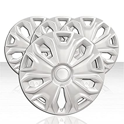 Amazon.com: Auto Reflections Set of 4 Wheel Covers for 2015-2017 Ford Transit 5 Y Spoke 16 inch - Silver: Automotive