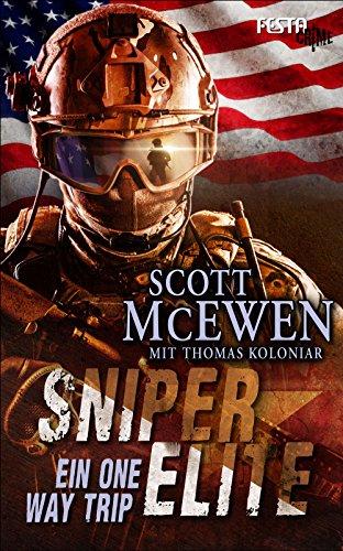 Sniper Elite Ein One Way Trip German Edition By McEwen Scott