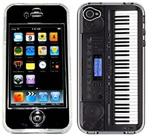 Keyboard Piano Handmade iPhone 4 4S Full Hard Plastic Case
