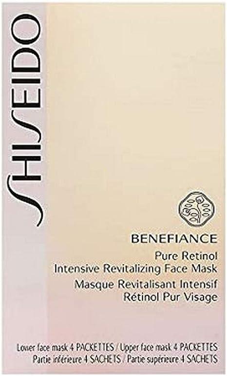 Shiseido Benefiance Máscara Facial de Revitalização Intensiva Com Retinol