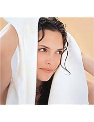 "AQUIS Microfiber Long Hair Towel 18"" x 44"",colors may vary"