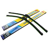 22' Windshield Windscreen Wiper Arm Blade Universial All-Season Bracketless Pack of 2
