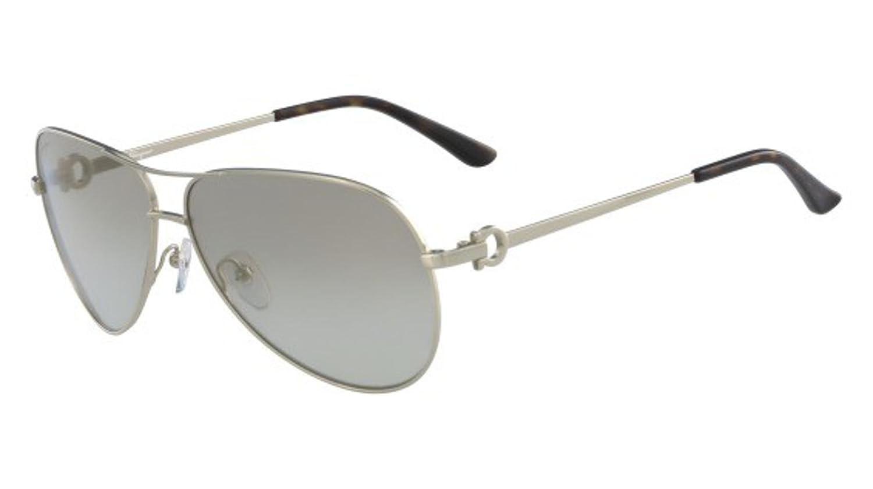 Amazon.com: anteojos de sol Ferragamo SF 167 S 718 oro ...