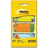 Etiqueta adesiva escolar c/pauta Meninos 886620 Pimaco, BIC, 886620, Multicor, pacote de 6