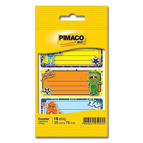 Etiqueta Adesiva BIC 886620 Multicor