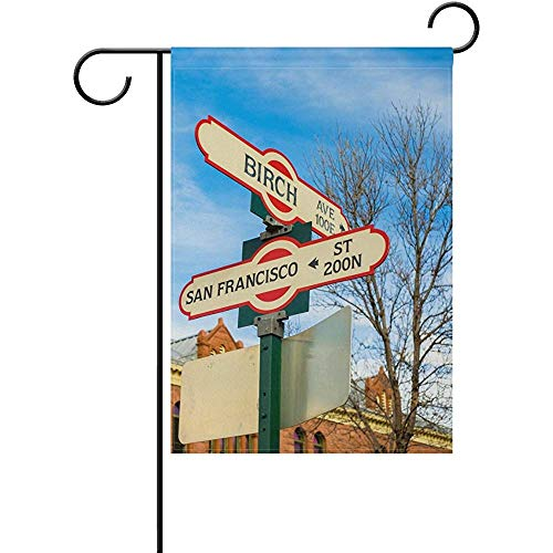 (Dweobolufz Seasonal Flagstaff Street Signs Double Sided Flags House Yard Party Decor, Festival Home Outdoor Flag 12x18)