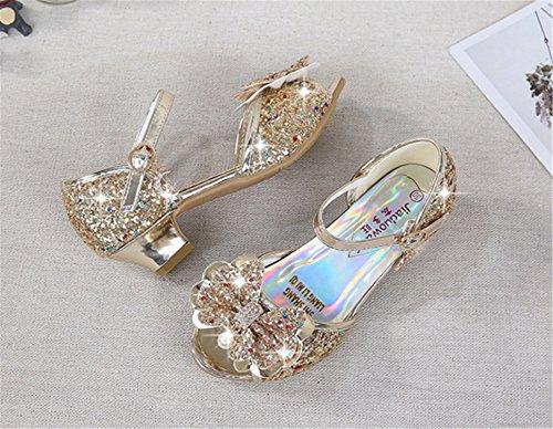 Descripción del producto. Niña disfraz de princesa zapatos tacon de moda  sandalias ... 59bb360cb0c39