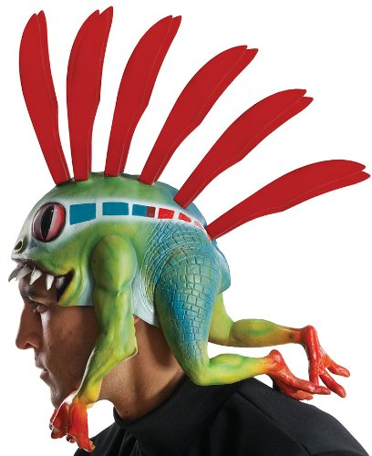 Rubie's Costume Co Men's World Of Warcraft Murloc Headpiece