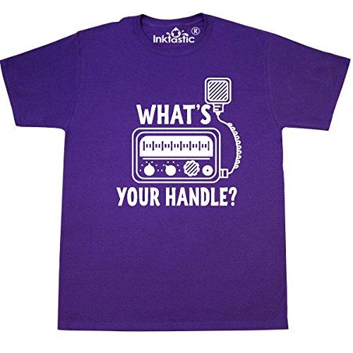 inktastic - CB Radio Retro Trucking Gift T-Shirt XXX-Large Purple 2e3bd ()