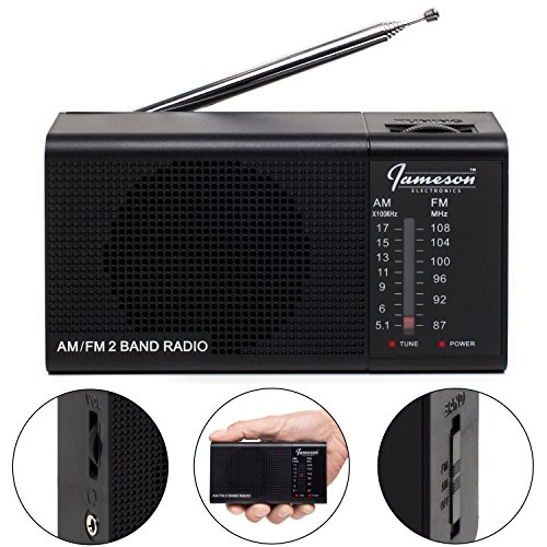 AM FM Portable Radio // Pocket Radios - Best Reception