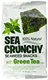 Sea Crunchy 100% Natural Roasted Seaweed with Green Tea Flavor, 0.35 oz (Pack of 12)