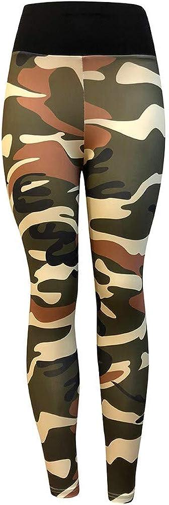 Hengshikeji/_Women Pants Elastic Yoga Casual Stretch Sport Joggers Workout Cropped Trousers High Waist Leggings Pants