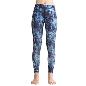 JIALELE Pantalon Yoga Imprimir_Leggings Pantalones De Yoga ...