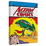 Trevco Superman/Action Comics 1 1-Cnvs Wall Art with BK Board
