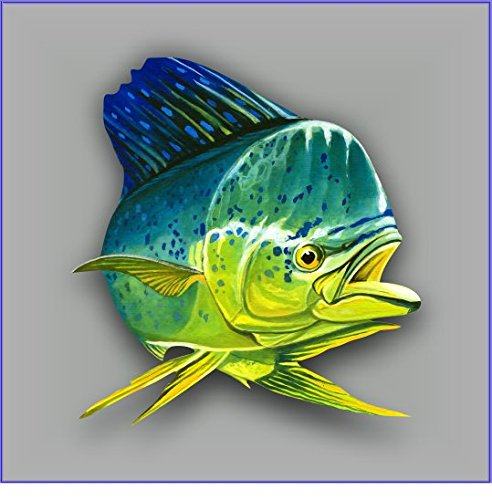 Mahi sticker decal Free Shipping