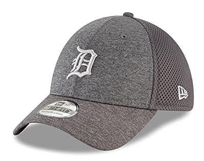 "Detroit Tigers New Era MLB 39THIRTY ""Classic Shade Neo Graphite"" Flex Fit Hat"