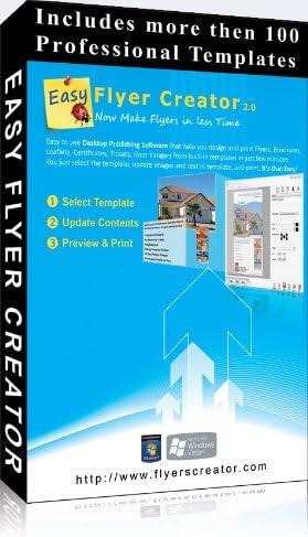 Amazon Com Easy Flyer Creator 2 0 Design Flyers Business Flyer Templates Brochures Desktop Publishing Templates Free Upgrade To Version 3 0