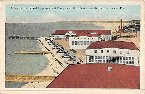 Pensacola Florida Naval Air Station School Seaplanes Antique Postcard K47607 (Stores In Pensacola)