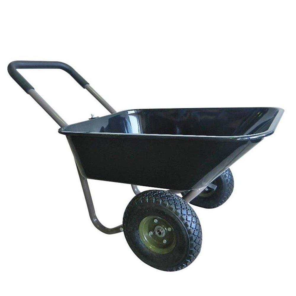 2輪ガーデンカート WB-2102B B073P6Y9VN