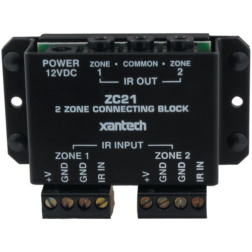 XANTECH ZC21 2-Zone Connecting Block (Zone Block 2 Connecting)