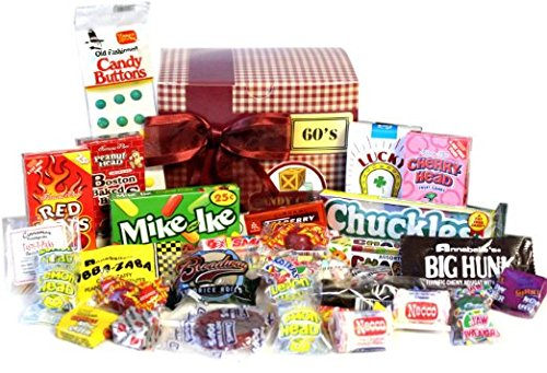 Candy Crate Old Fashioned Sweets Decade Gift Box (Giant Old Fashioned)