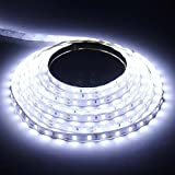 M.best Waterproof 5630 LED Strip 16.4FT/ 5M 300Led (60LED/M) SMD RGB Lamps ...