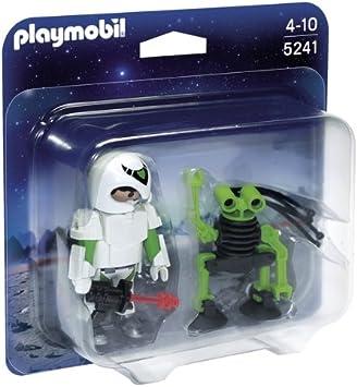 PLAYMOBIL Duo Pack - Hombre del Espacio con Robot (5241): Amazon ...