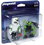 PLAYMOBIL Duo Pack Space Man with Spy Robot Playset