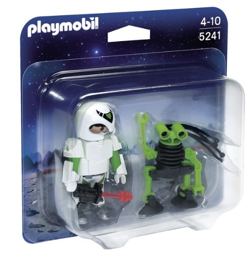 Best PLAYMOBIL Duo Pack Space Man with Spy Robot Playset