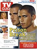 TV Guide November 14, 2005 Dominic Purcell & Wentworth Miller/Prison Break, Poppy Montgomery/Without A Trace, Kenny Chesney, Mandy Patinkin/Criminal Minds